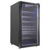 AKDY 32 Bottle Single Zone Freestanding Wine Refrigerator