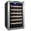 AKDY 28 Bottle Single Zone Freestanding Wine Refrigerator