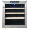 AKDY 16 Bottle Single Zone Freestanding Wine Refrigerator