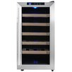 AKDY 18 Bottle Single Zone Freestanding Wine Refrigerator