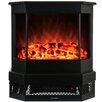 AKDY Freestanding Electric Fireplace Insert