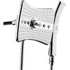 AKDY 2.5 GPM Rainfall 2 Piece Jet Shower Head and Handheld Shower Wand Set