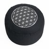 Lotus Design Bodenkissen Stickerei aus 100% Baumwolle