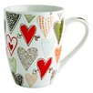Fairmont and Main Ltd Hearts Mug (Set of 4)