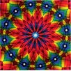 Grund Mandala Multi-Coloured Area Rug