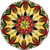 Grund Mandala of Life Multi-Coloured Area Rug