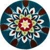 Grund Mandala Harmony Blue Area Rug