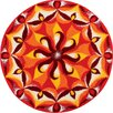 Grund Teppich Mandala Spirit in Orange