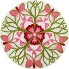 Grund Mandala Playfulness Pink Area Rug