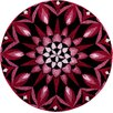 Grund Teppich Mandala Power of The Moment in Pink