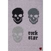 Boeing Carpet GmbH Rock Star Baby Grey Area Rug