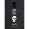 Boeing Carpet GmbH Rock Star Baby Black Area Rug