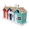 Garden Bazaar Beach Hut Bird House