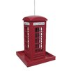 Garden Bazaar Telephone Box Bird Feeder