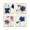 Artvue Marthe Flowers 4 Piece Framed Art Print Set