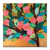 Artist Lane Fruit Tree by Anna Blatman Art Print Wrapped on Canvas