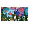 """Artist Lane Leinwandbild """"Magnolia Purples"""" von Anna Blatman, Kunstdruck"""