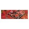 """Artist Lane Leinwandbild """"Japanese Maple"""" von Andrew Brown, Fotodruck"""
