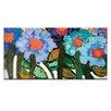 """Artist Lane Leinwandbild """"Magnolia Blue"""" von Anna Blatman, Kunstdruck"""