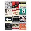 "Artist Lane Leinwandbild ""Found Type 02"" von Steve Leadbeater, Grafikdruck"