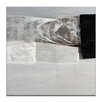 Artist Lane Seismic Shift #8 by Katherine Boland Art Print Wrapped on Canvas in Grey