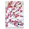 """Artist Lane Leinwandbild """"Pink Magnolia"""" von Anna Blatman, Kunstdruck"""