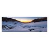 Artist Lane Snow Glow by Andrew Brown Photographic Print on Canvas