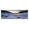 Artist Lane Leinwandbild Snow Glow Fotodruck von Andrew Brown