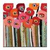 """Artist Lane Leinwandbild """"Stemmed Poppies Close Up 2"""" von Anna Blatman, Bilddruck"""
