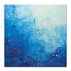 Artist Lane Above the Reef by Jennifer Webb Art Print Wrapped on Canvas in Blue