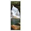 Artist Lane Lady's Bath Falls by Andrew Brown Photographic Print Wrapped on Canvas