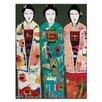 """Artist Lane Leinwandbild """"Spring Geisha"""" von Anna Blatman, Bilddruck"""