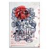 Artist Lane Distraction by Steve Leadbeater Graphic Art Wrapped on Canvas in Gray