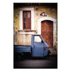 Artist Lane Doors of Italy - Ape Alla Mia Porta by Joe Vittorio Photographic Print Wrapped on Canvas