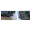 Artist Lane Chilly Spa by Andrew Brown Photographic Print Wrapped on Canvas