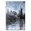 Artist Lane Lake View III by Jennifer Webb Art Print Wrapped on Canvas