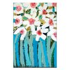 Artist Lane Blue Stems by Anna Blatman Art Print on Canvas