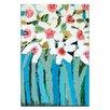 """Artist Lane Leinwandbild """"Blue Stems"""" von Anna Blatman, Kunstdruck"""
