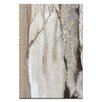 Artist Lane Moonlit Trees 2 by Karen Hopkins Art Print on Canvas in Cream