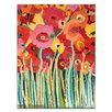 Artist Lane Spring Blooms by Anna Blatman Art Print on Canvas