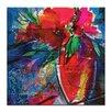 Artist Lane Floral Fantasy 6 by Kathy Morton Stanion Art Print on Canvas