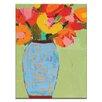 """Artist Lane Leinwandbild """"Blue Jar"""" von Anna Blatman, Kunstdruck"""