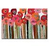 """Artist Lane Leinwandbild """"Brown Stemmed Poppies"""" von Anna Blatman Bilddruck"""