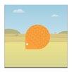 """Artist Lane Leinwandbild """"Spike the Hedgehog"""" von Alex Turnbull, Grafikdruck"""