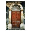 Artist Lane Doors of Italy - Incatenato by Joe Vittorio Photographic Print Wrapped on Canvas