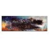 Artist Lane The Glow beyond by John Louis Lioyd Art Print Wrapped on Canvas