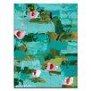 """Artist Lane Leinwandbild """"Lillies"""" von Anna Blatman, Kunstdruck"""