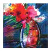 Artist Lane Floral Fantasy 5 by Kathy Morton Stanion Art Print Wrapped on Canvas