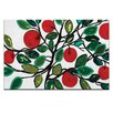 Artist Lane Apples 2 by Anna Blatman Art Print on Canvas