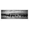 Artist Lane Sailors Warning by Andrew Brown Photographic Print Wrapped on Canvas in Black/White